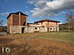 Stone farmhouse, stables and large barn in Labro